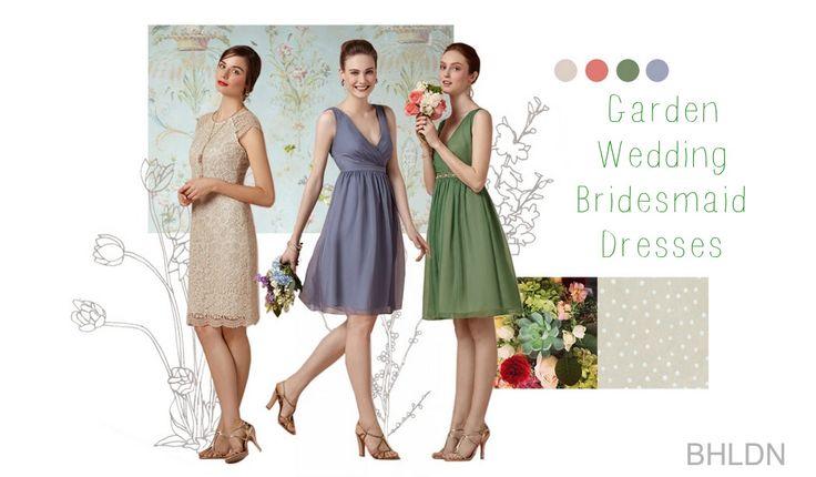 Garden Bridesmaids Dresses