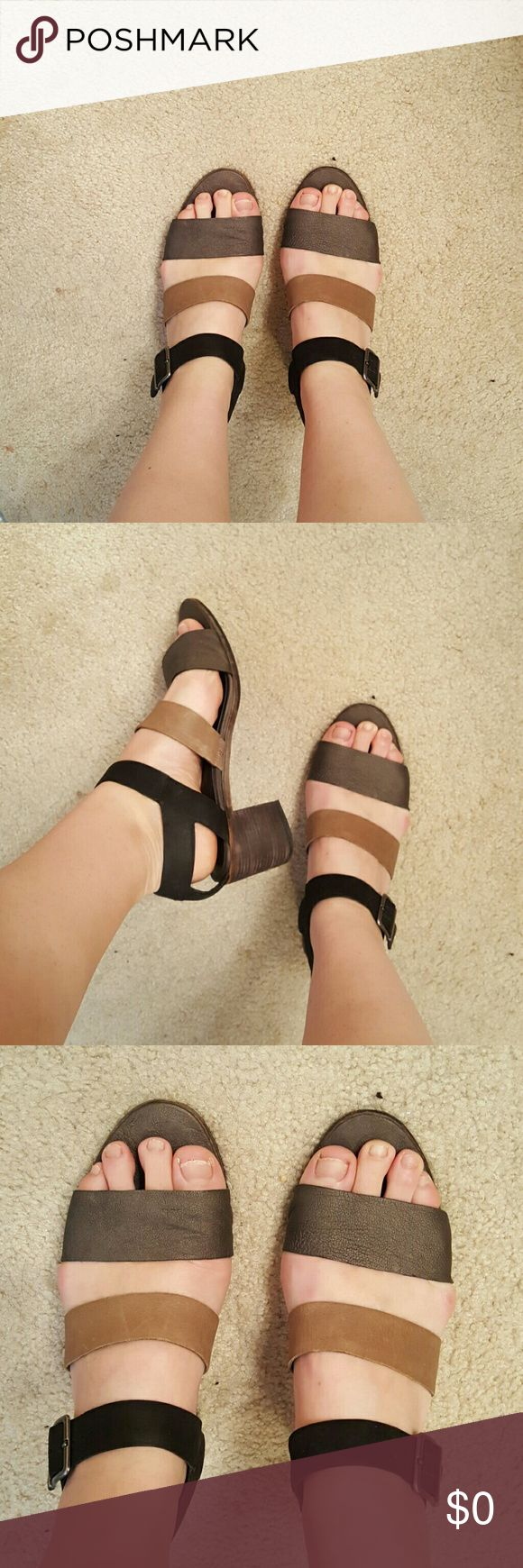 Additional pics of perfect neutral sandals More pics! See original listing to purchase! Eileen Fisher Shoes Sandals