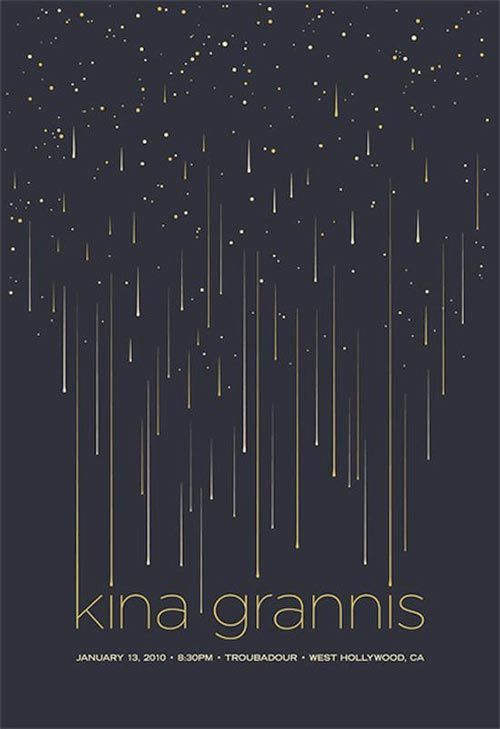 A photo I studied for Art History last year reminds me of this. The night sky, the drop-like stars, and the combining into letters of the name make this cover lots of fun to look at.: