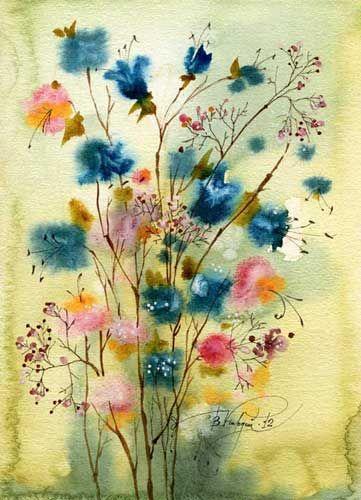 Сухие цветы (Виктория Кирдий)