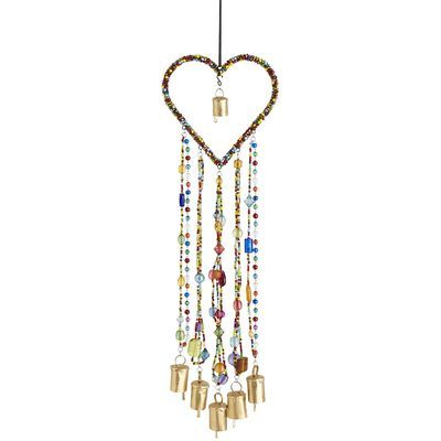 Heart Wind Chime- I would love to try to make it