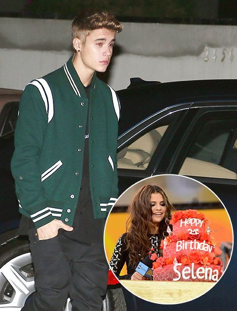 On again? Justin Bieber attended on-again off-again girlfriend Selena Gomez's 21st birthday party this weekend - and you'll never guess what he brought as a gift.
