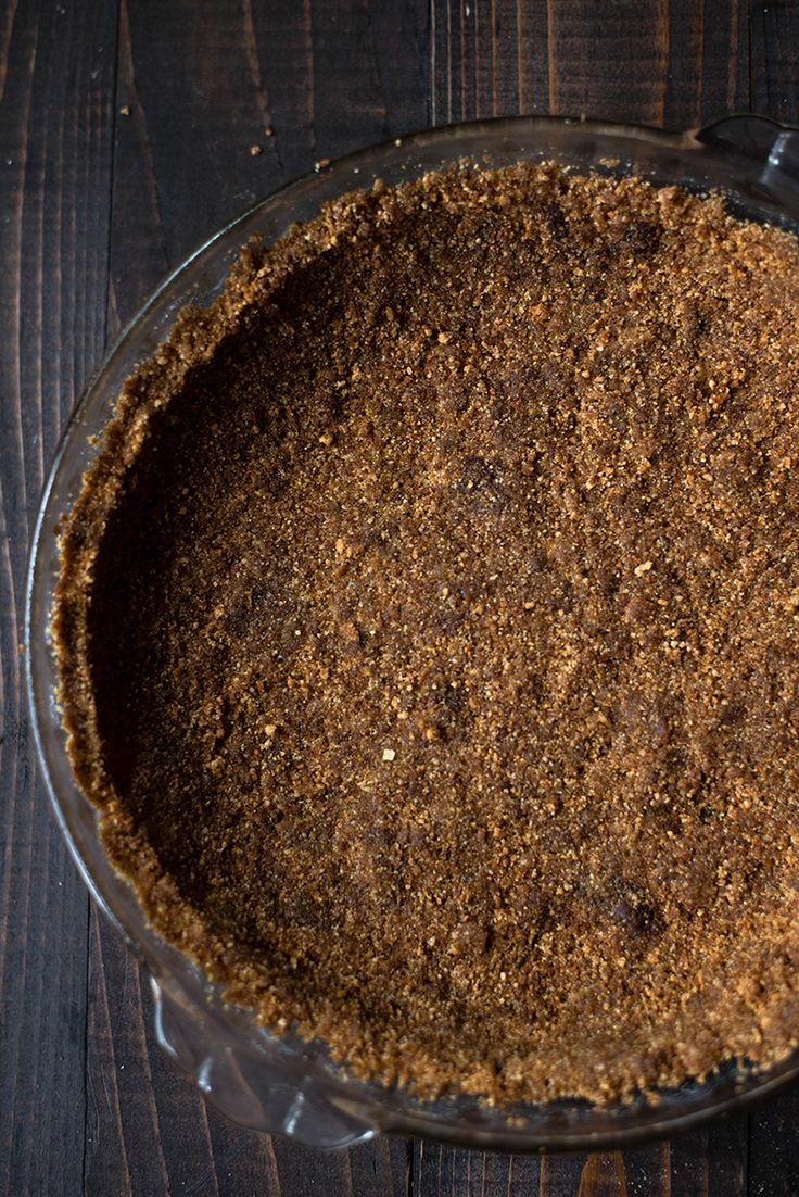 Gingersnap Pie Crust #asweetpeachef