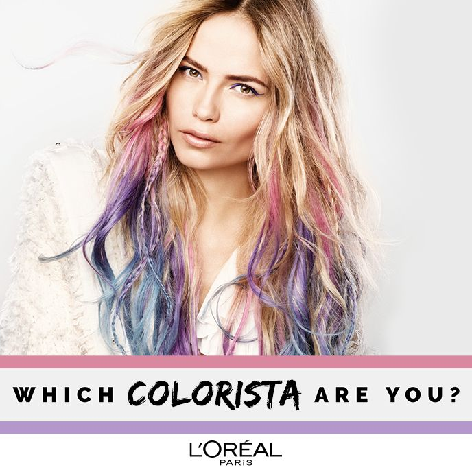 awesome hair styles 12 best colorista by l or 233 al images on 6247