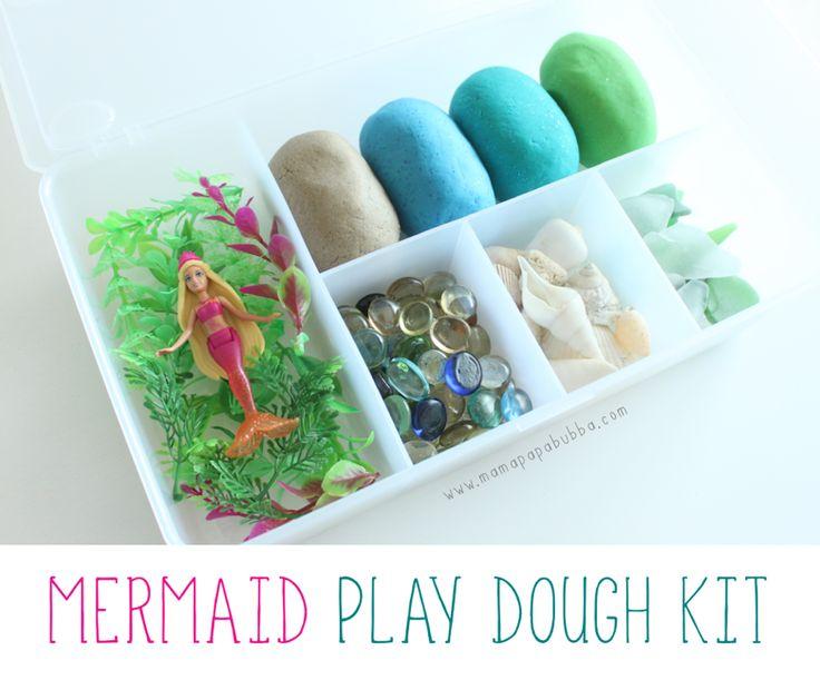 Mermaid Play Dough Kit | Mama.Papa.Bubba.