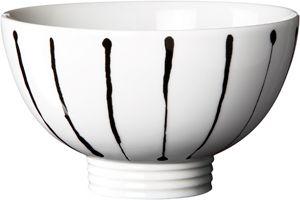 Filippa K Skål Ink Stripe 40 cl Rörstrand 145 kr/st, 6-p. Även andra mönster