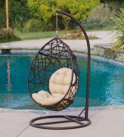 Hanging Basket Chair Egg ~ Http://makerland.org/cozy Spot