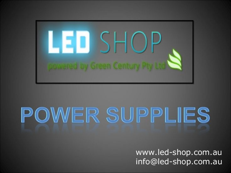 LED-Shop - Power Supplies - We offer a range of power supplies specifically designed to meet the requirements of LED lighting. Our LED power supplies provide high performance over a range of output voltages and currents.  http://www.slideshare.net/LEDShop/ledshop-power-supplies