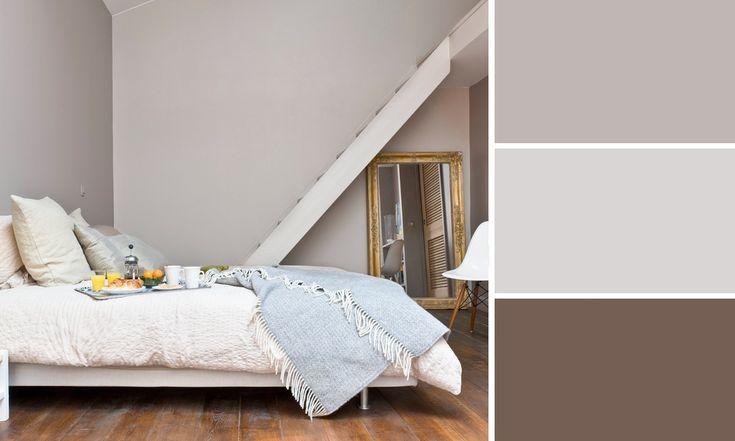 Pingl sur id es pour la maison - Les couleurs qui se marient avec le gris ...