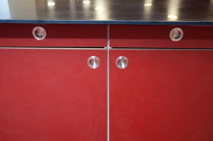 Club Grønnemose – MAA Jan René Rasmussen – Ejendomscenteret Gladsaxe Kommune - aktivitetsklub – cafékøkken - #overflade – #Desktop  – #Furniture Linoleum – #Forbo – #interior – #interiordesign