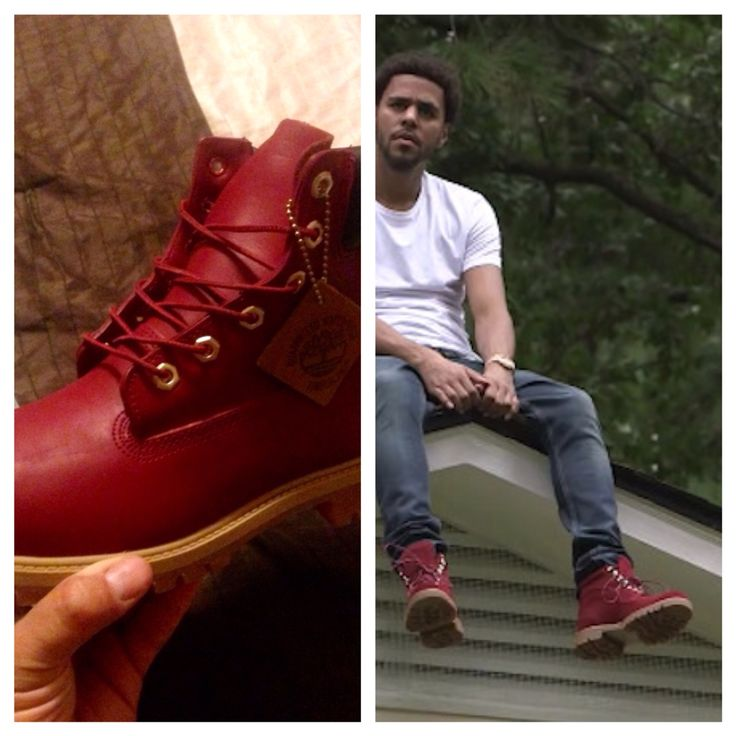 Red dress boots cole