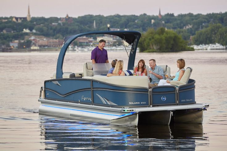 Premier pontoons does it again with the Solaris with sleek arch.  We have one 2015 left at a killer blowout price.  Click for more info.