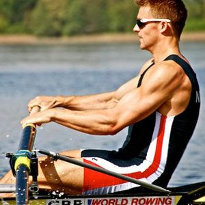 How London 2012 Olympian Pete Reed trains