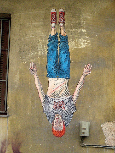 Street art by Dimitris Taxis.