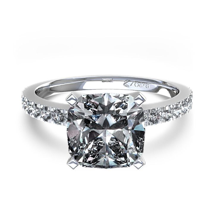 110 best images about cushion cut engagement rings