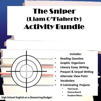 "best the sniper images the sniper short stories  set of activities for use the short story ""the sniper"" by liam o"