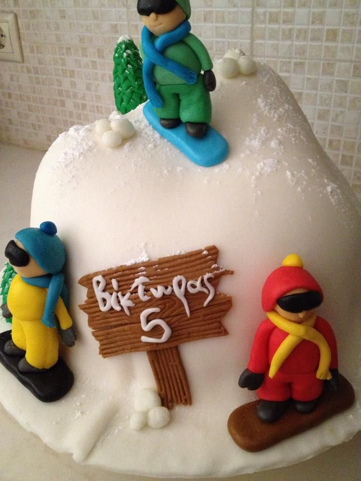 40 Best Snowboard Cakes Images On Pinterest Snowboard