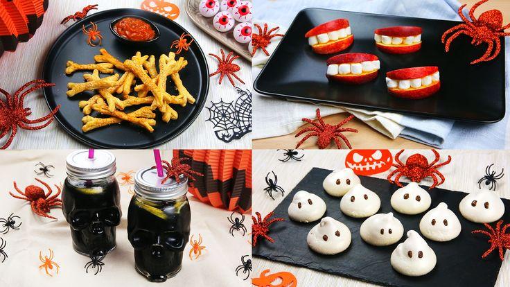 Cuisinez avec vos enfants pour Halloween grâce à ces 4 recettes faciles à préparer.
