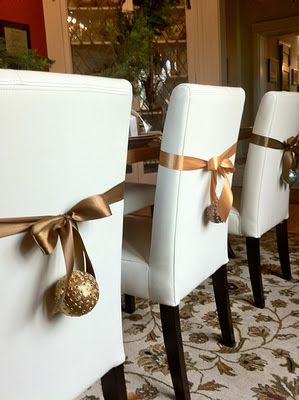 203 Best Christmas Holiday Tables Amp Chairs Images On