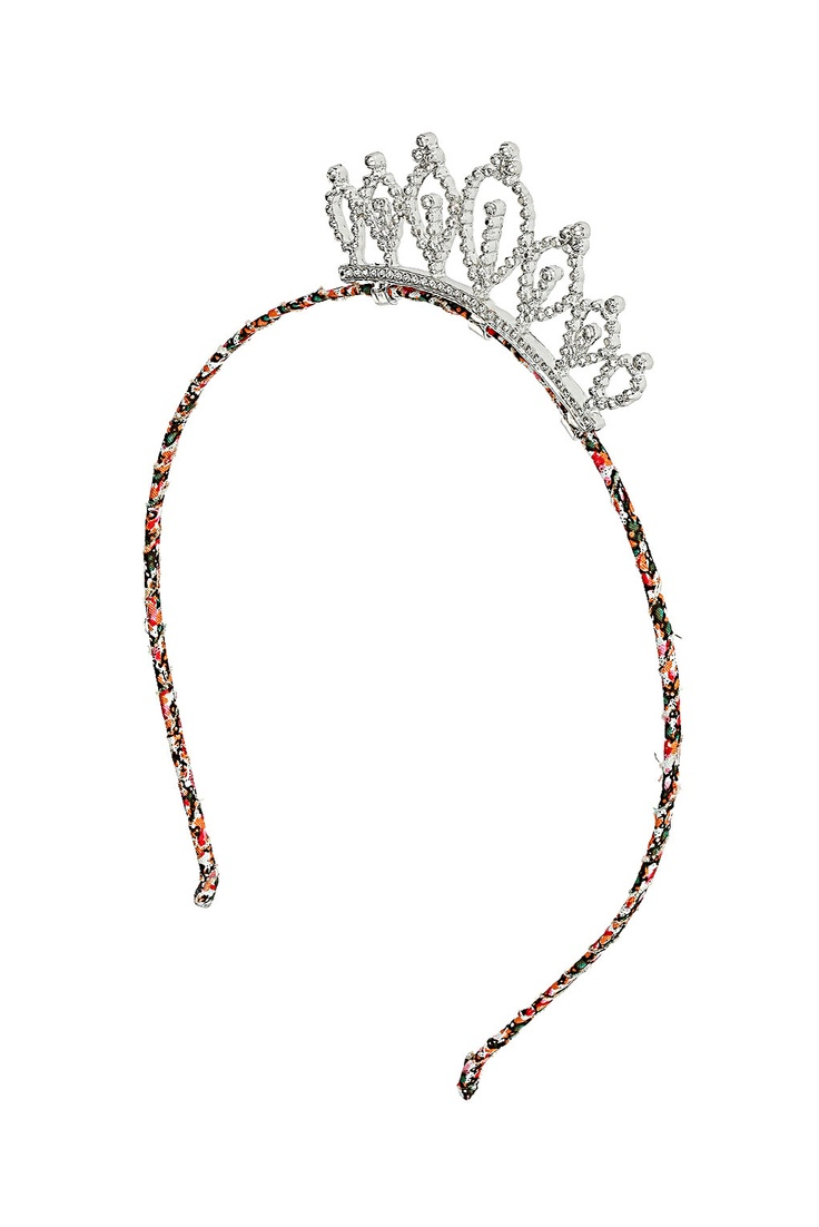A tiara Alice-band! How prom perfect? #TopshopPromQueen #topshop #hair #accessory