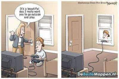 Go Play Outside Gamer