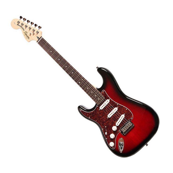 Squier Standard Stratocaster - Left Handed - Antique Burst
