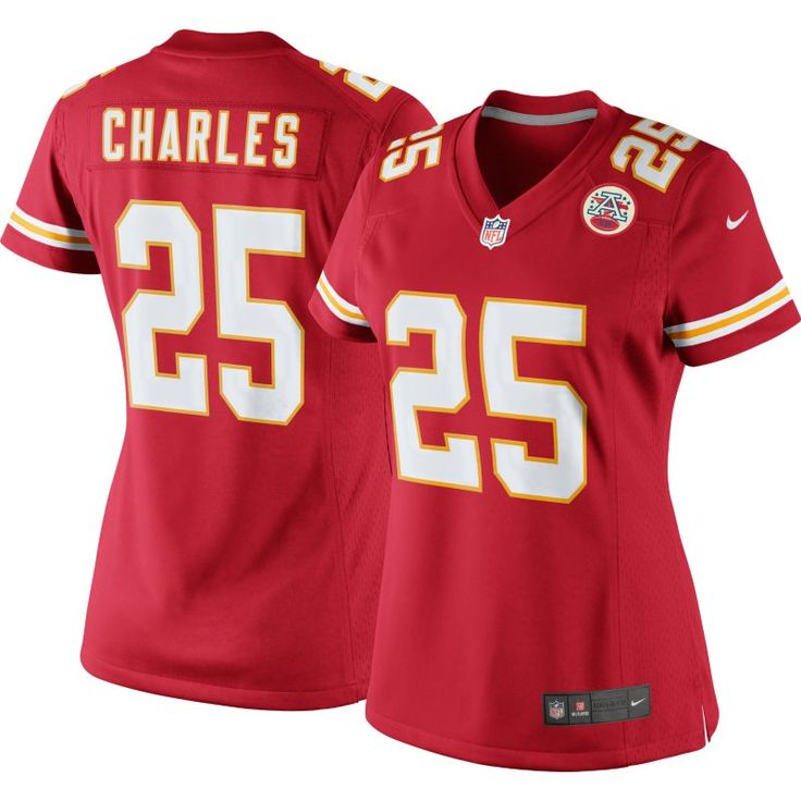 Nike Women's Home Limited Jersey Kansas City Jamaal Charles #25, Size: Medium, Team