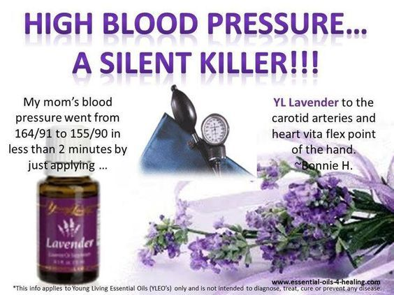 Young Living Essential Oils: Lavender for High Blood Pressure: