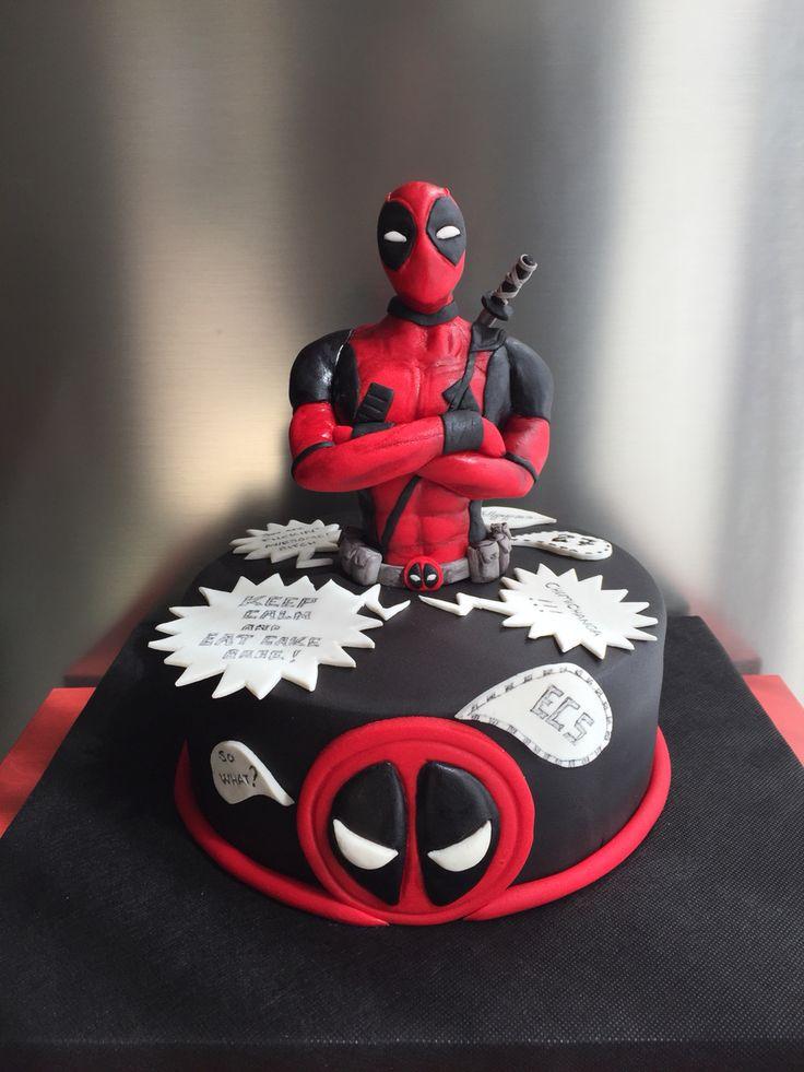 Deadpool Cake                                                                                                                                                     Más