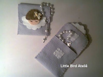 Little Bird Ateliê: Lembrancinha de batizado