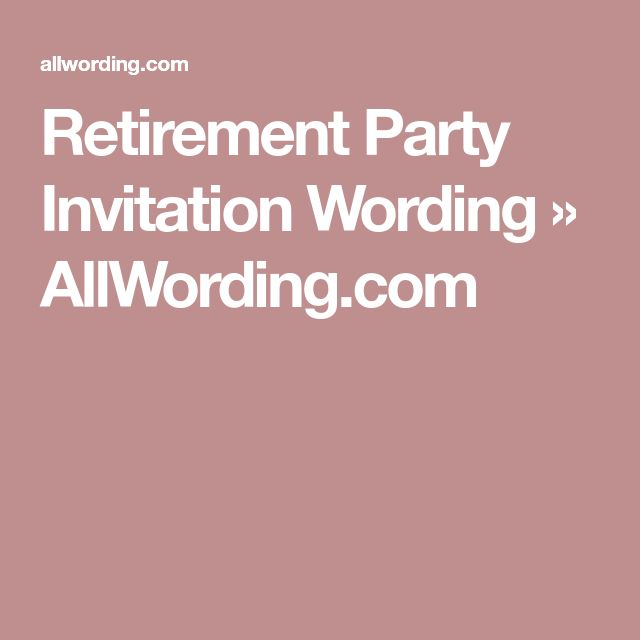 Best 25+ Retirement party invitation wording ideas on Pinterest - farewell party invitation template