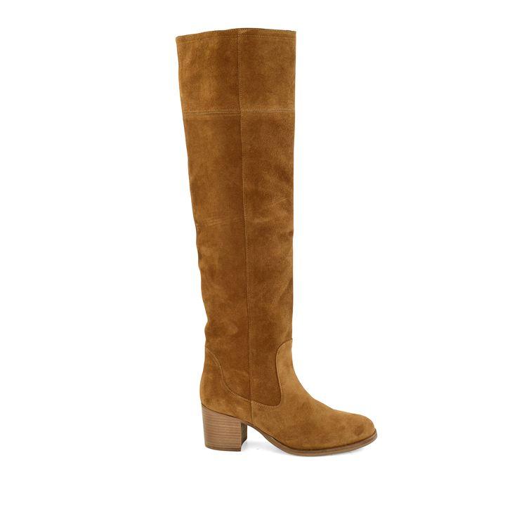 Overknee boots suède #overknee laarzen #boots #Sacha