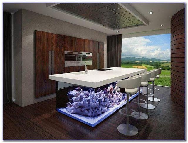 Kitchen Island Fish Tank Beautiful Kitchen Designs Kitchen Interior Design Modern Modern Kitchen Interiors