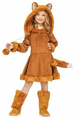 Carnavalskleding vos Foxy