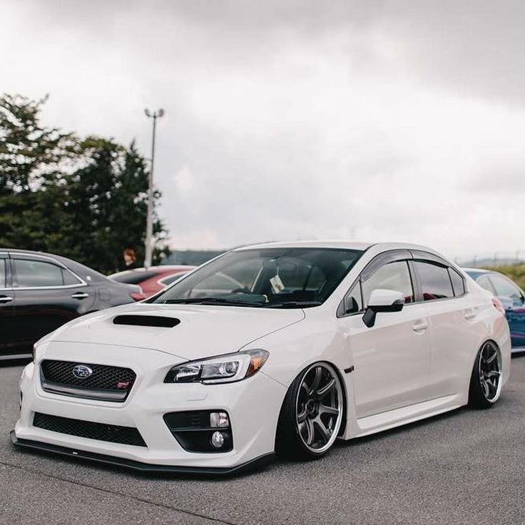 Subaru WRX STI . . #subaru #greasegarage #wrx #stance #jdm #carculture #racecar #sportscar #stanced #jdm #boosted #turbo #awd #wheels #lowered #fa20 #subie #bagged #stancenation #subaruwrx #sti #automotivephotography