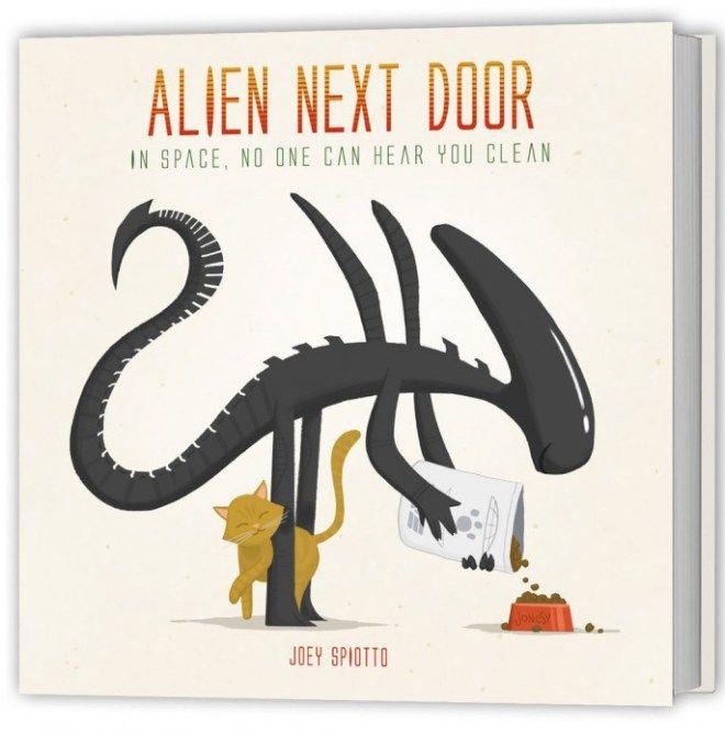 Joey Spiotto - Storytime 2 - Gallery 1988 - Alien