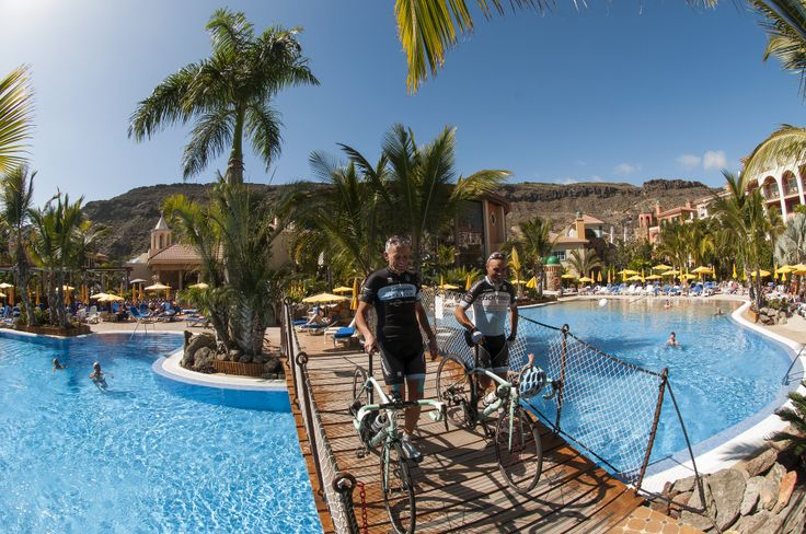 After a long day of climbing, we like to relax. Work hard, play hard. Thomson Bike Tours in Gran Canaria. Cycling training camp for people who love to climb.