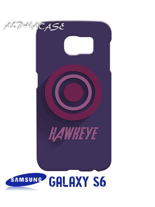 Hawkeye Superhero Samsung Galaxy S6 Case Hardshell