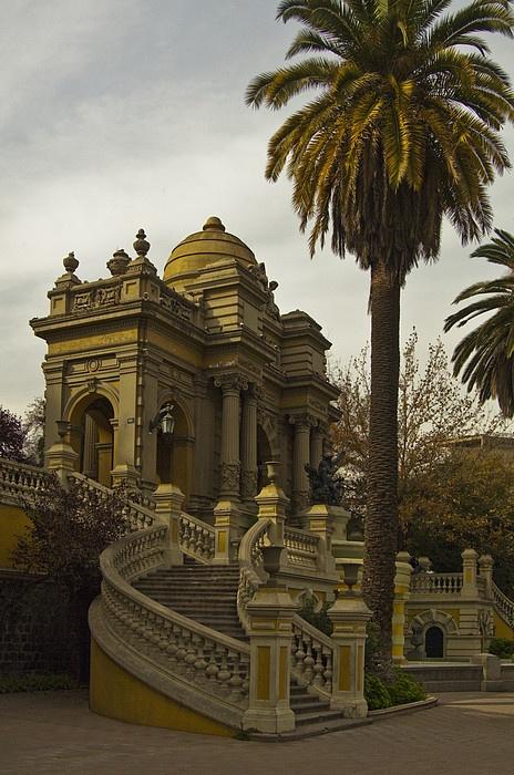 Cerro Santa Lucia, Santiago Chile