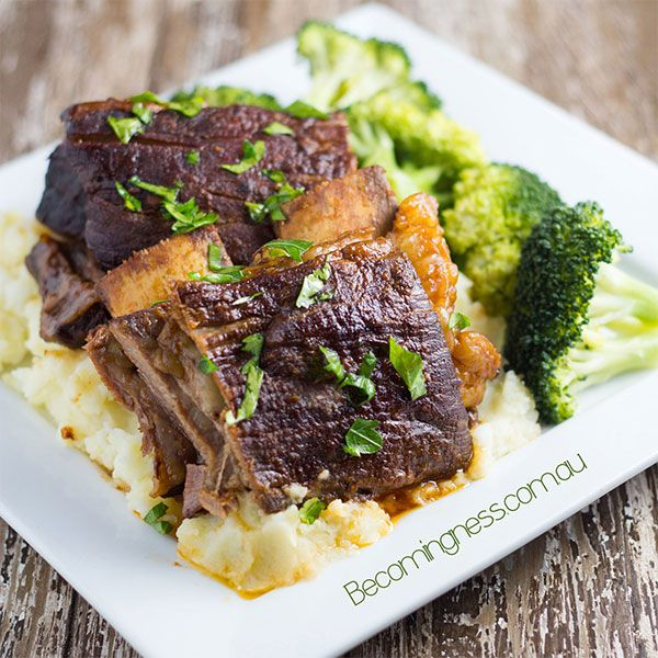 Slow Cooked Beef Ribs. These flavours are VERY, VERY tasty! Gluten and nasty free. A great way to welcome in the cooler weather.