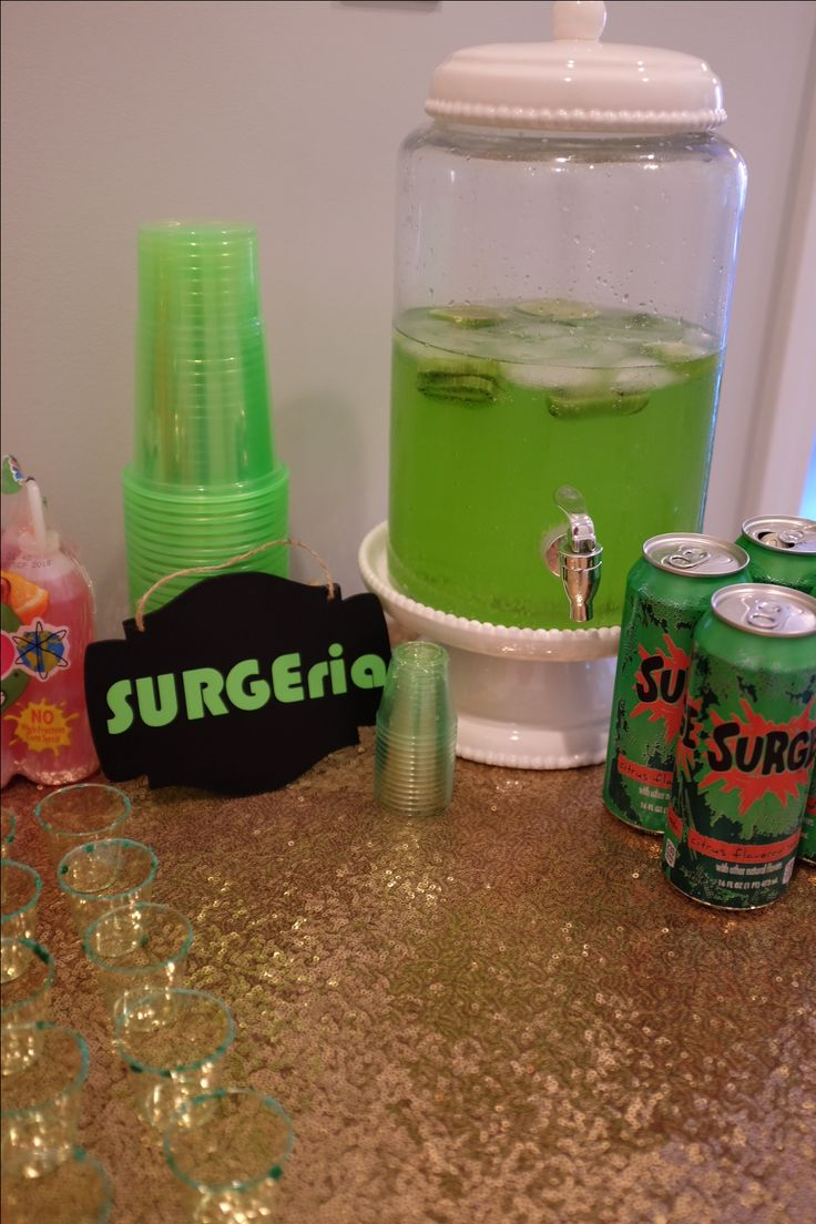 Surge alcoholic drink! 90s candy bar. Ring pops. Bubble tape. Poprocks. 90s party 90s girl #90s nostalgia 90s kids all things 90s throwback birthday flashback nickelodeon