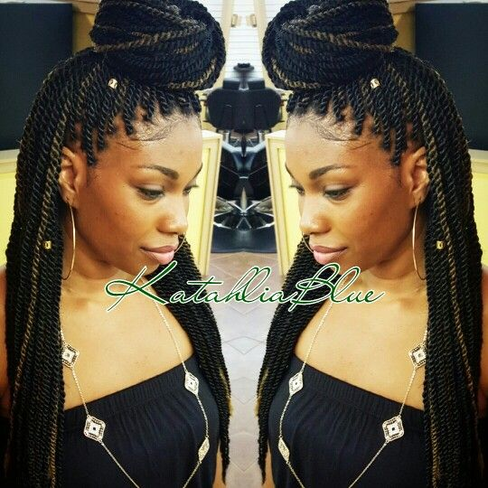 Small Marley Twists  Houston Natural Stylist