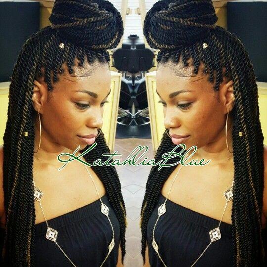 Small Marley Twists  Houston Natural Stylist