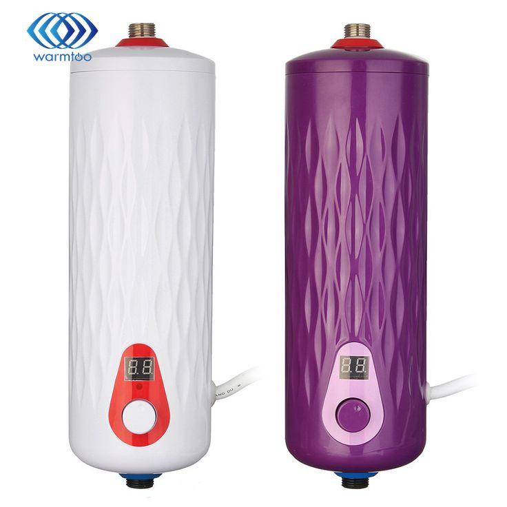 5500ワット220ボルトインスタント給湯器サーモスタット電気デジタルディスプレイteasure熱電気温水器キッチン浴室