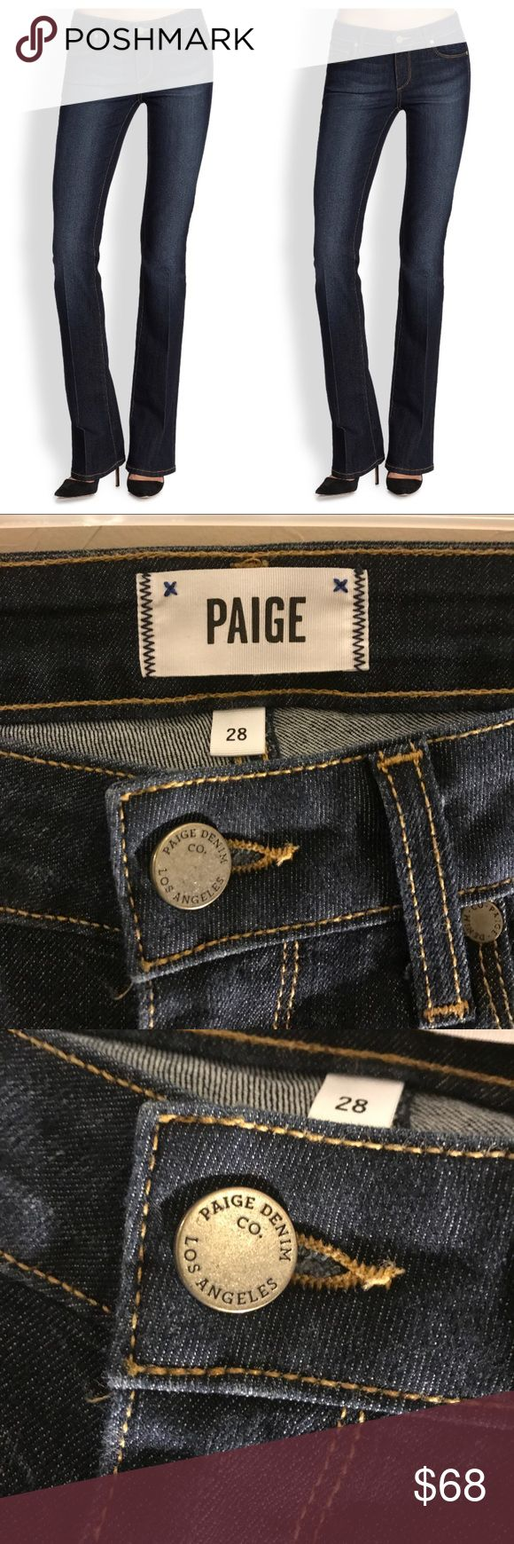 Paige Denim Manhattan Leyland Baby Boot cut  jeans Paige Denim Manhattan Leyland Baby Boot cut jeans • NWOT • purchased from Saks Fifth Avenue • no trades Paige Jeans Jeans Boot Cut