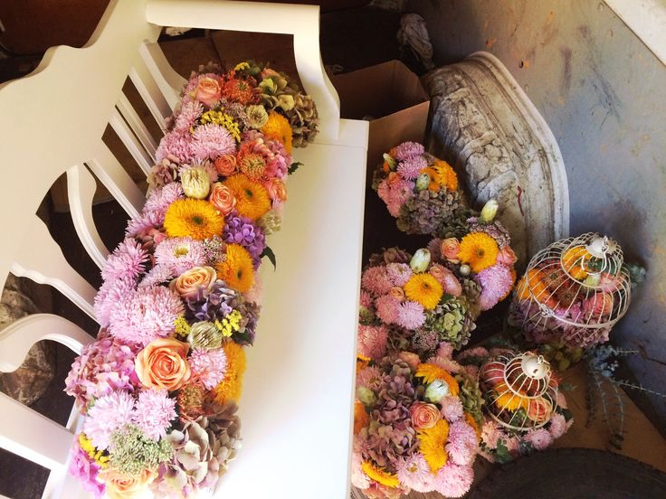 Ceremony flowers ✔️