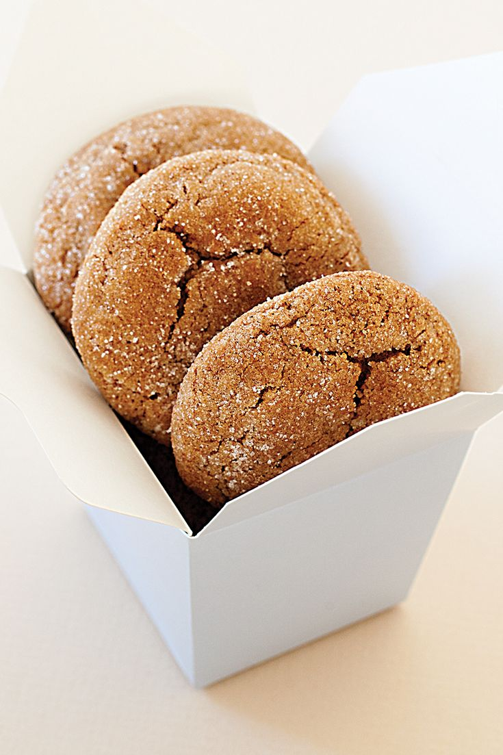 "#Epicure Gingerbread ""Crackle"" Cookies"