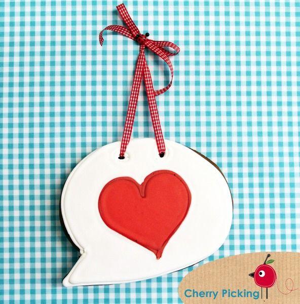 Lebkuchen LOVE YOU von *Cherry Picking* auf DaWanda.com