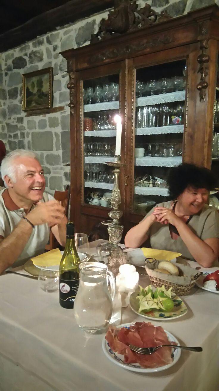 Dinner in #Arcera #sibillinisegreti #marche