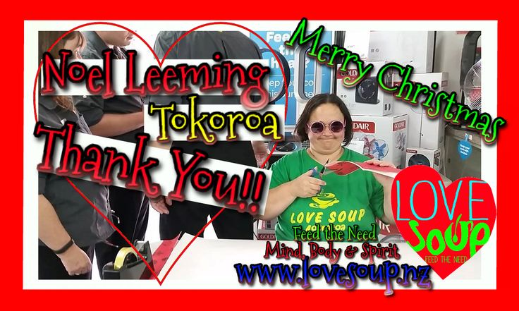 Noel Leeming Tokoroa Thank You Gift Wrapping for gold coin Donation #Fun